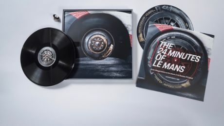 The 24 Minutes of Le Mans: Very special vinyl plates