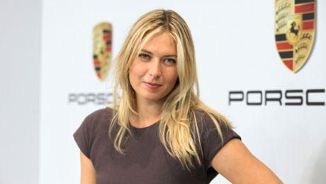 Maria Sharapova to represent Porsche