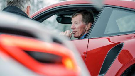 Porsche feiert Motorsport-Ikone Walter Röhrl