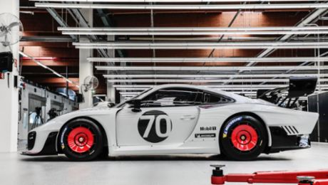 Project Top Secret: The development of the new the Porsche 935