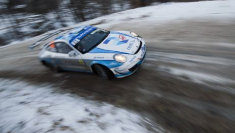 Dumas secures class win at Monte Carlo Rally