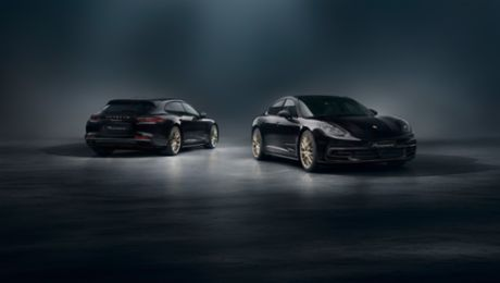 Special edition for anniversary: Porsche Panamera 10 Years Edition