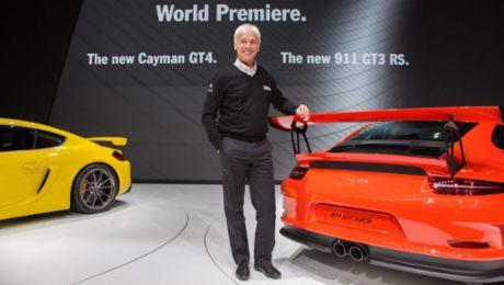 Porsche entwickelt Cayman GT4 Clubsport