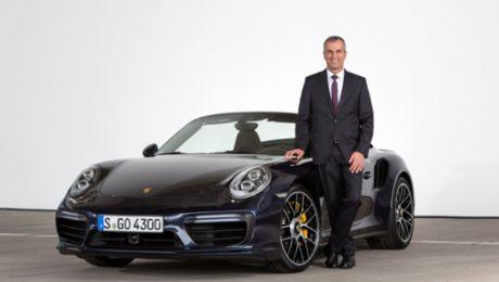 Porsche AG verlängert Vertrag von Albrecht Reimold