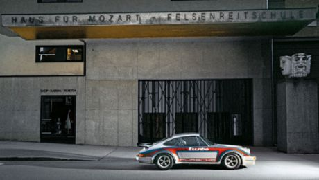Karajan's unique Porsche: the 911 Turbo RS