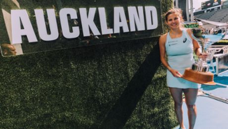 Julia Görges claims WTA tournament in Auckland