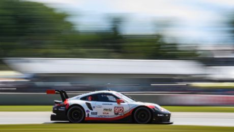 Porsche keen to extend lead at the Virginia International Raceway
