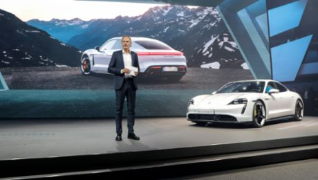 New Porsche products at the IAA 2019 in Frankfurt