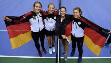 Porsche Team Germany wins Fed Cup thriller
