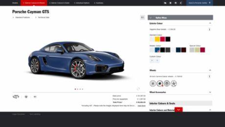 Porsche Car Configurator raises the bar