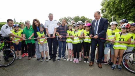 Stationäre Jugendverkehrsschule in Ludwigsburg eröffnet