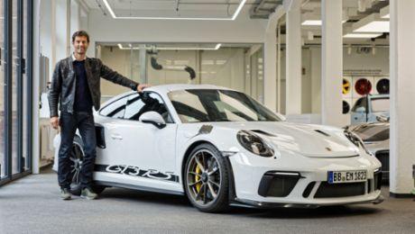 Erprobt und getestet: Mark Webber und der GT3 RS