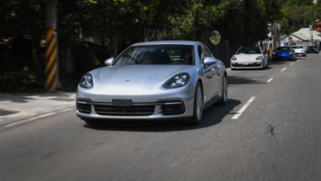 Two Trails – One Panamera