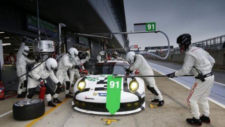 Das Team für den 911 RSR