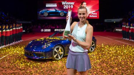 Petra Kvitova to defend her title at the 2020 Porsche Tennis Grand Prix