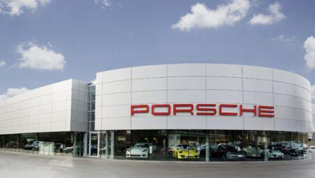 Das neue Porsche Zentrum Hamburg Nord-West