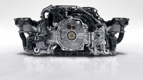 The flat engine tradition at Porsche