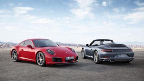 The new 911 Carrera