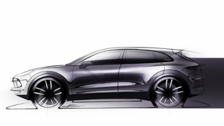 The new Cayenne: firmer design and larger wheels