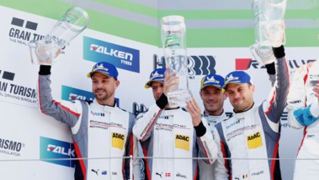 Porsche secures second and Pro-Am class win at the 24-hour marathon