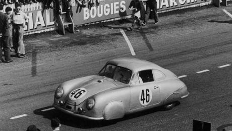 Porsche in Le Mans