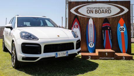 Porsche Italia presents new water sports initiative