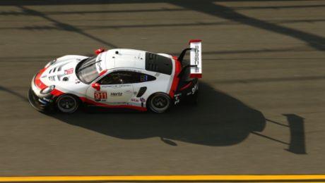 IMSA: Porsche absolviert optimalen Test in Daytona