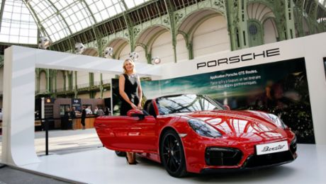 "Sharapova testet den ""Taste of Paris"""