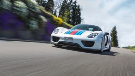 The king of the roads and his 918 Spyder