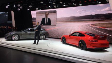 Porsche-Weltpremieren in Genf