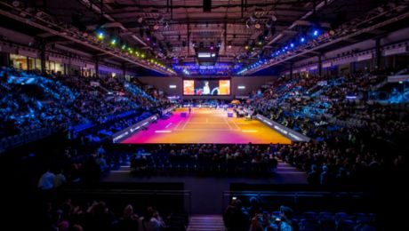 Tennis highlights in the Porsche Arena