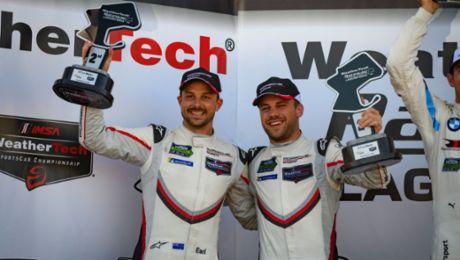 IMSA: Porsche GT Team in Taktikkrimi auf Platz zwei