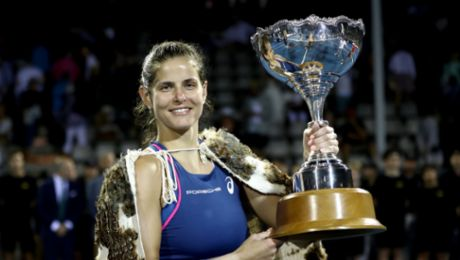 Julia Görges wins WTA tournament in Auckland