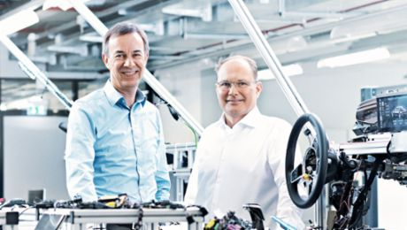 Digitalization solutions at Porsche: New, Yet Familiar