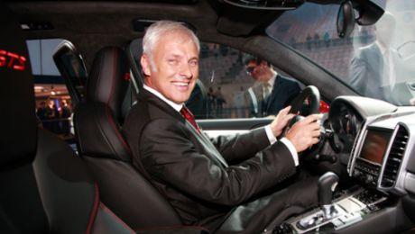 """""""Ein Porsche muss immer begeistern"""""""