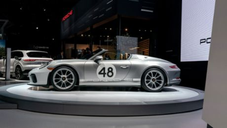 Pure and analogue – the Porsche 911 Speedster