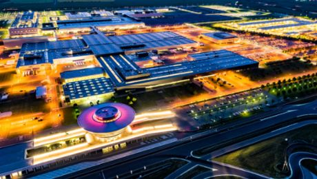The Porsche factory in Leipzig is now a major centre for electromobility
