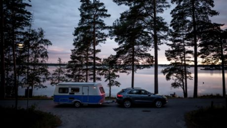 Experiencing Midsummer with the Porsche Cayenne