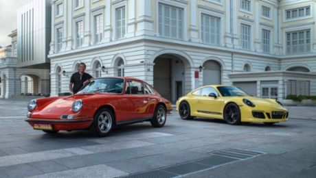 Time Traveller: Porsche 911 Carrera T