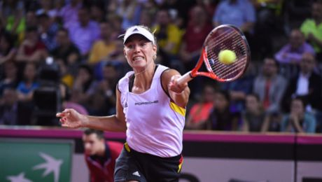Angelique Kerber's matches free on Facebook