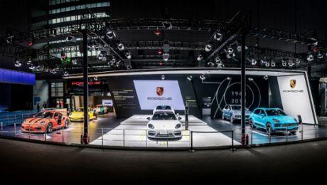 面向未来,保时捷亮相首届中国国际进口博览会
