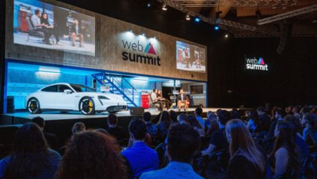 Tech Talks & Next Visions: Porsche at the Web Summit in Lisbon