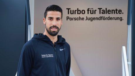 """Sami Khedira ist Botschafter von """"Turbo für Talente"""""""