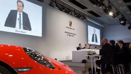 Record result for Porsche