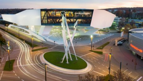The Porsche Museum celebrates its 10th birthday