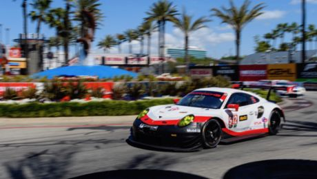 Second podium for the new Porsche 911 RSR