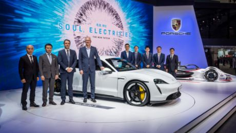 Porsche taking Auto Guangzhou by electric storm