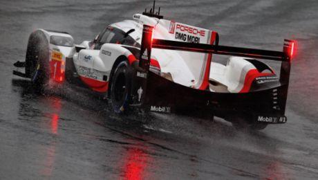 大雨、浓雾、红旗:保时捷 919 Hybrid位居三、四位完赛
