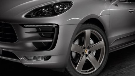 New sporty options for the Macan