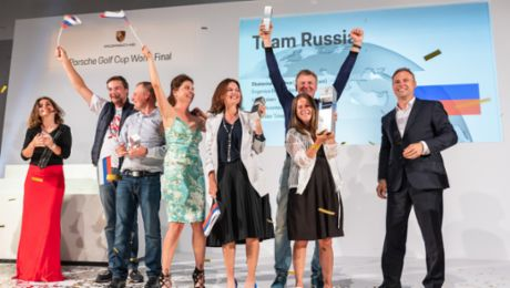 Team Russia triumphs at fifth World Final